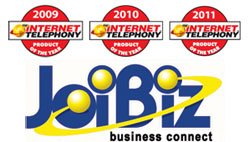 JoiBiz Receives 2011 INTERNET TELEPHONY Product of the Year Award